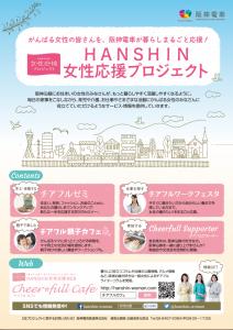 「HANSHIN女性応援プロジェクト」チラシ・ポスター